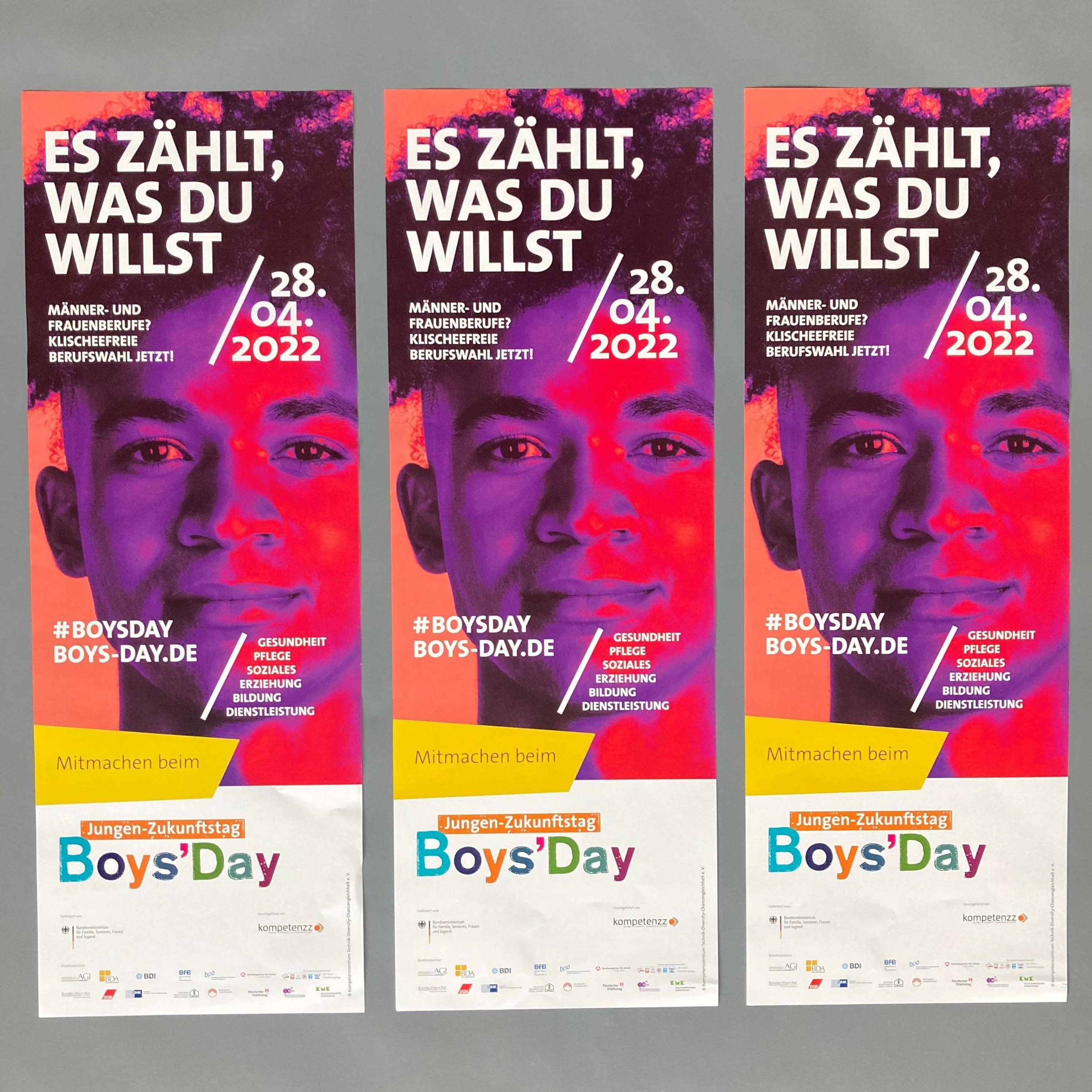Boys'Day-Plakat 2022