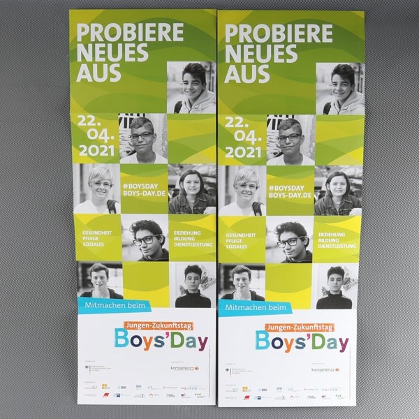 Boys'Day-Plakat 2021