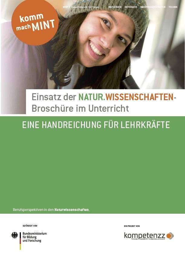 Einsatz der Naturwissenschaften-Broschüre im Unterricht | Eine Handreichung für Lehrkräfte
