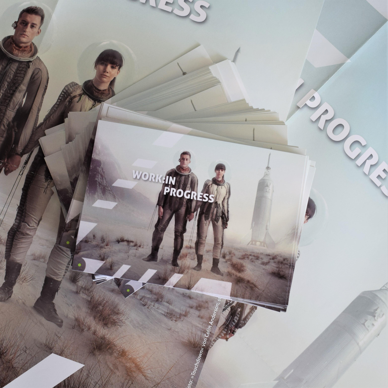 Flyer zum Deutschen Jugendfilmpreis 2022: Work:in Progress