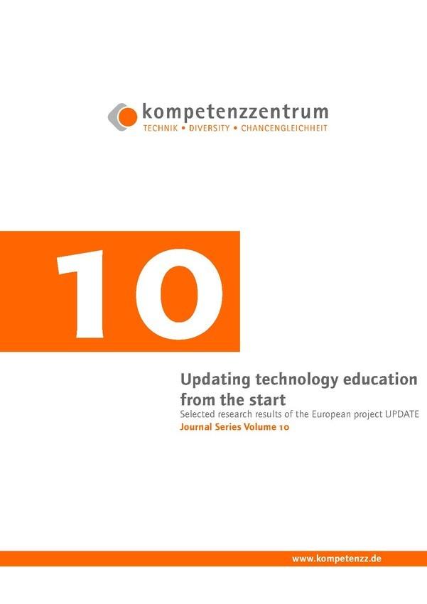 Updating technology education from the start | Schriftenreihe Heft 10
