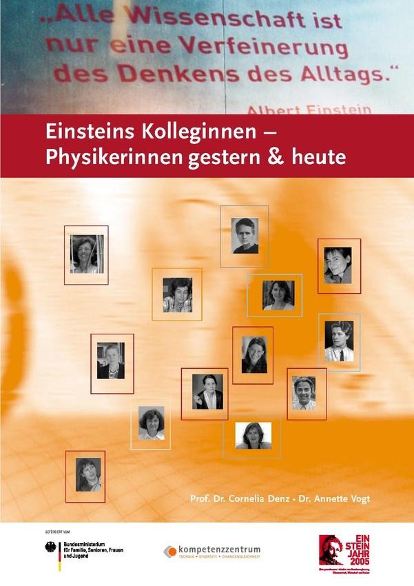Einsteins Kolleginnen - Physikerinnen gestern & heute | Broschüre