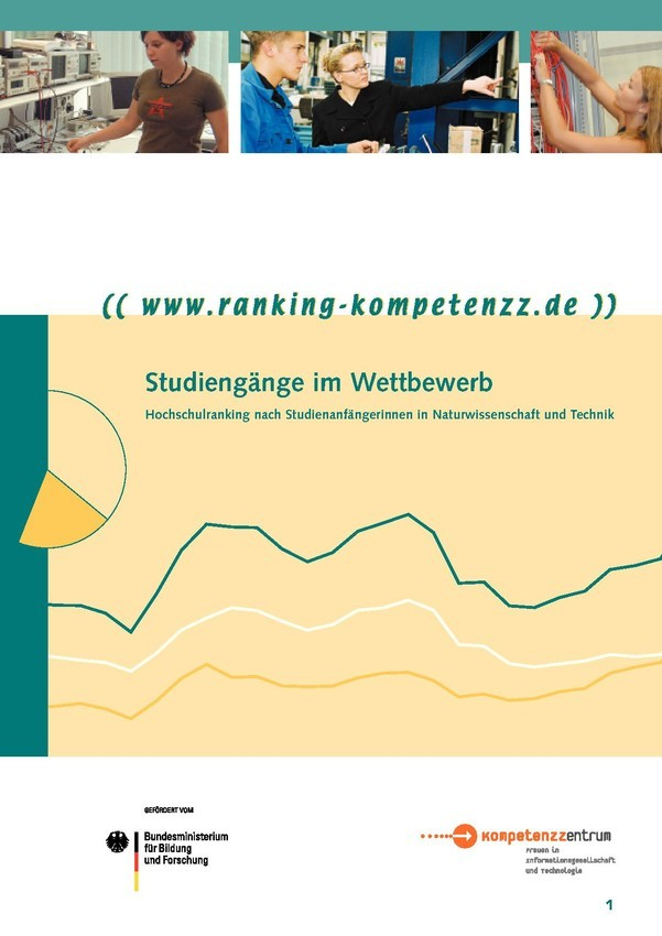 Studiengänge im Wettbewerb | Rankingbroschüre