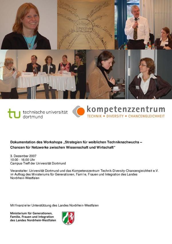 Strategien für weiblichen Techniknachwuchs. Wirtschaft und Wissenschaft im Dialog | Workshop-Dokumentation