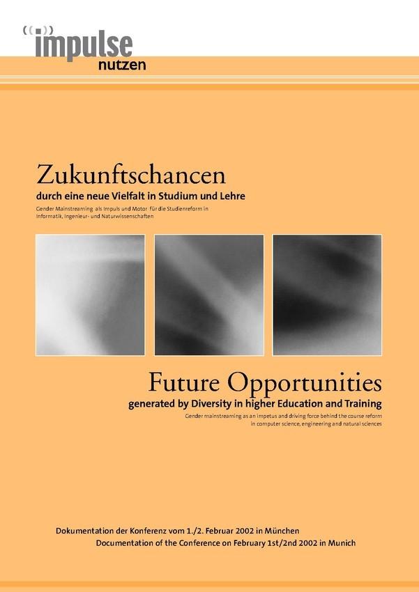 Impulse nutzen - Zukunftschancen | Broschüre
