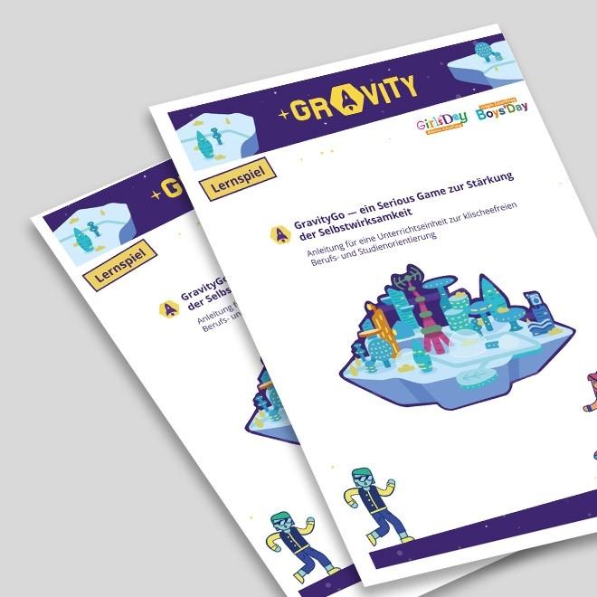 GravityGo – ein Online-Spiel gegen Geschlechterklischees | Anleitung