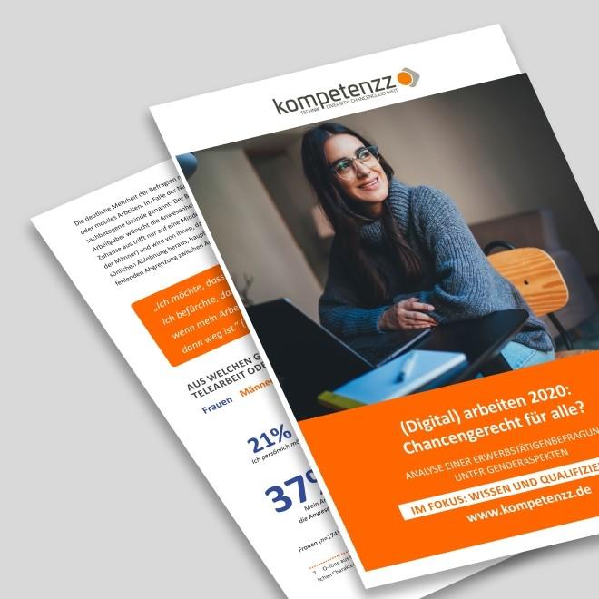 Studie (Digital) arbeiten 2020: Chancengerecht für alle? Im Fokus: Wissen und Qualifizierung
