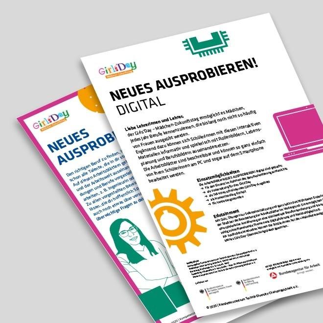 NEUES AUSPROBIEREN digital – Einführung für Lehrkräfte