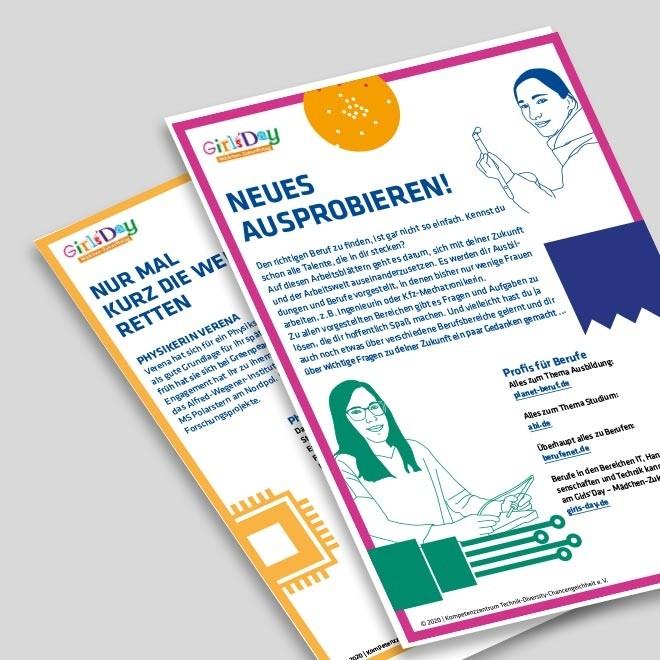NEUES AUSPROBIEREN digital – Arbeitsblätter