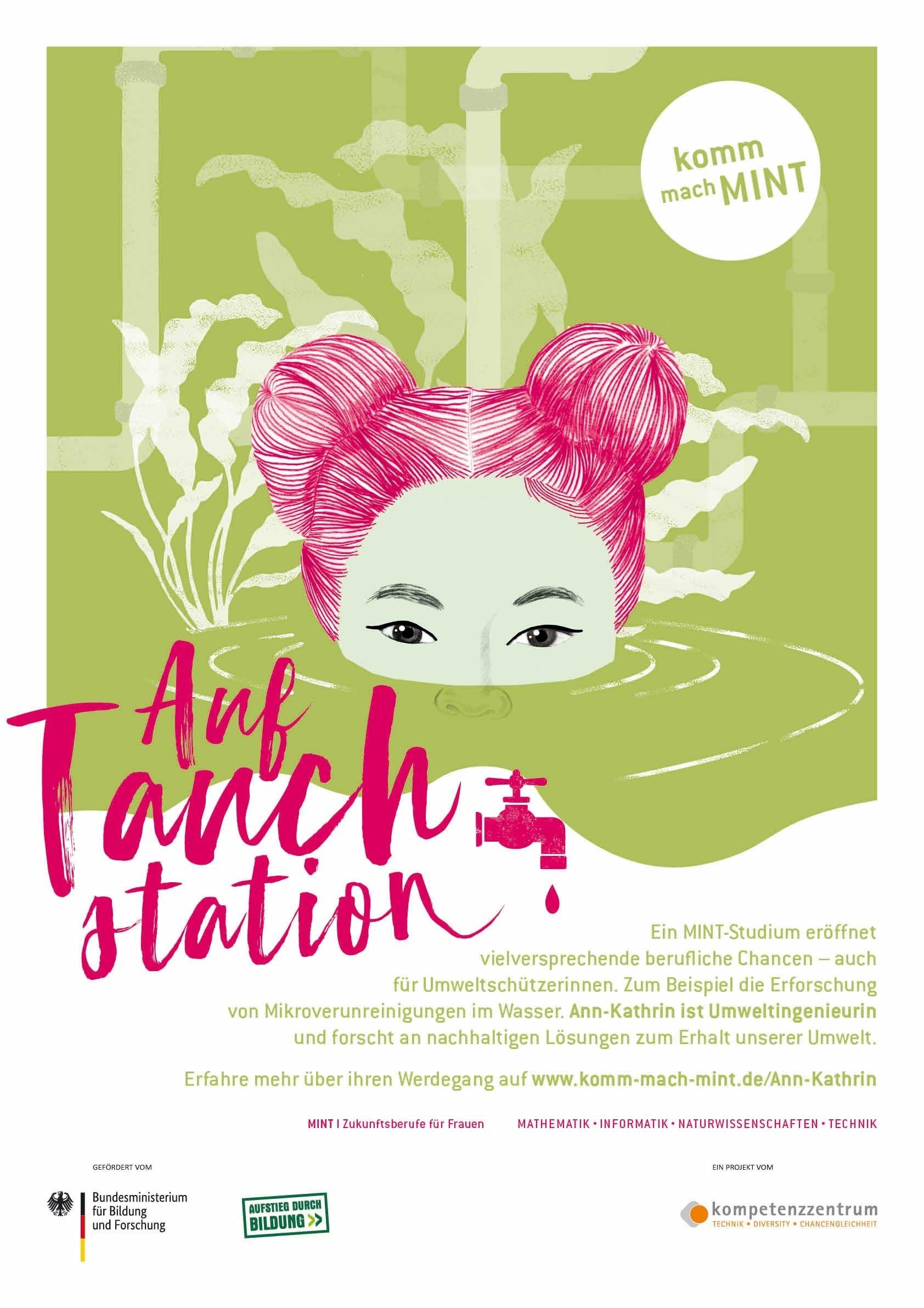 Auf Tauchstation - Umwelttechnik Poster | A 1