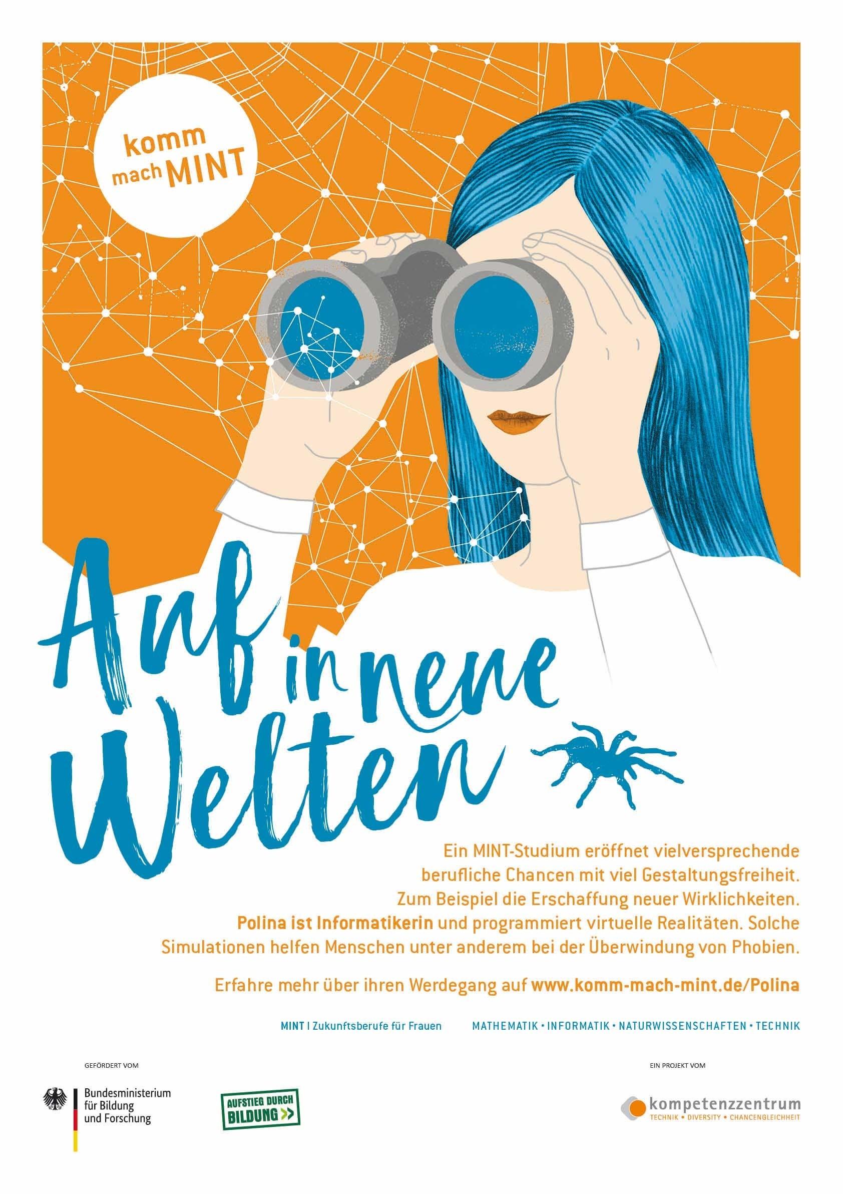 Auf in neue Welten - Informatik Poster | A 1