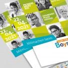 Boys'Day-Plakat DIN A3 beschreibbar